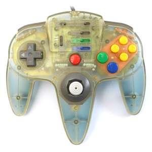 Controller / Pad mit Turbo #weiss-blau transp. [Ascii]