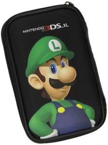 3DS XL Original Tasche / Carry Case / Travel Bag / Hard Case #schwarz Luigi [Nintendo]