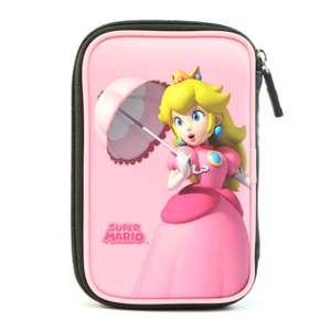 Original Tasche / Carry Case / Travel Bag / Hard Case #rosa Peach Super Mario [Nintendo]