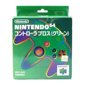 Original Nintendo Controller #grün NUS-005