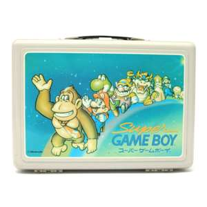 Original Koffer / Case / Tasche #Super GameBoy [Nintendo]