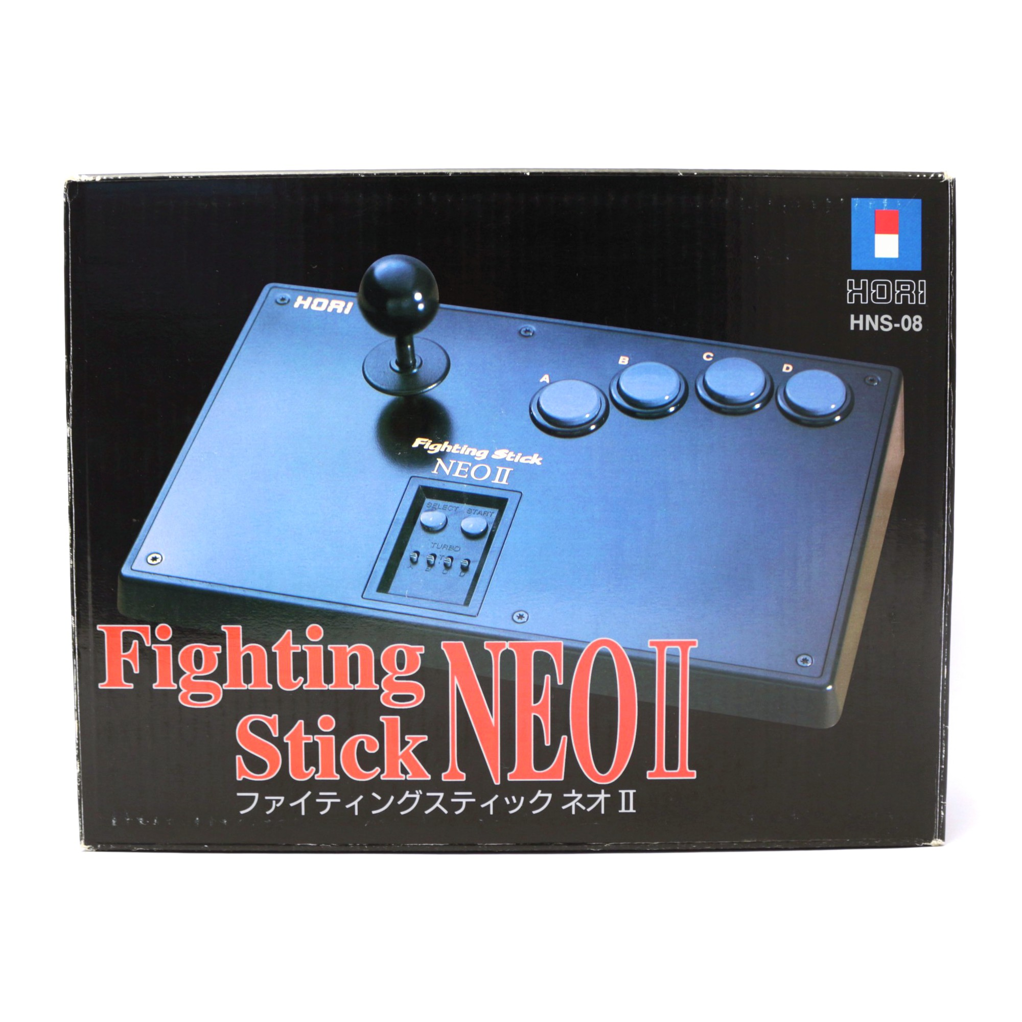 Neo Geo CD - Arcade / Fighting Stick NEO II / 2 / HNS-08 #schwarz [Hori]