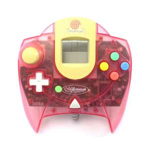 Original Controller #pink-weiss transparent / Passion Pink Millennium 2000 Edition