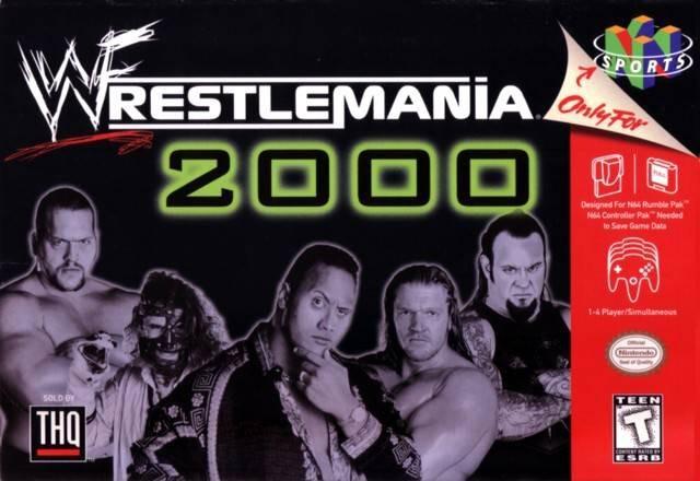 N64 - Wrestlemania 2000