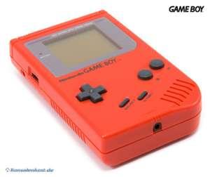 Konsole #rot Classic 1989 DMG-01 Red Zora
