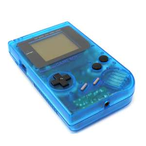 Konsole #blau-transparent Classic DMG-01 Custom Case