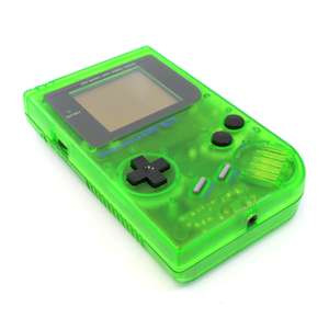 Konsole #grün-transparent Classic DMG-01 Custom Case
