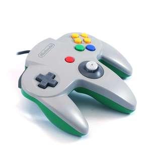 Original Nintendo Controller #grau-grün NUS-005