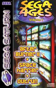Sega Ages Vol. 1 After Burner 2 + Space Harrier + Outrun