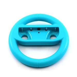 Joy-Con Aufsatz: Lenkrad /Racing Wheel #Neon-Blau [verschiedene Hersteller]