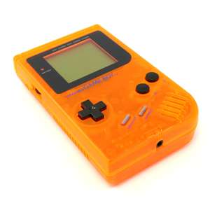 Konsole #orange-transparent Classic DMG-01 Custom Case