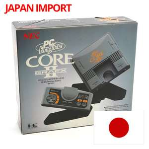 Konsole Core Grafx II + Cont. + Zub.