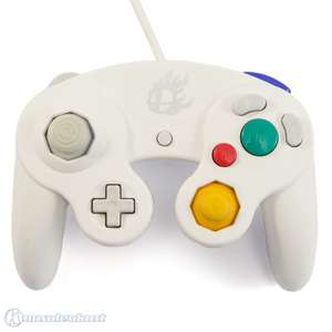 Original GameCube Smash Bros Controller #weiß
