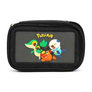 Tasche / Carry Case / Travel Bag / Hard Case #schwarz-grau Pokemon Schwarz & Weiß Starter