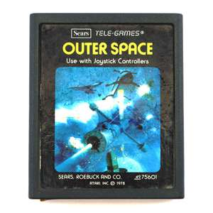 Outer Space #Picturelabel [Sears / Tele-Games]