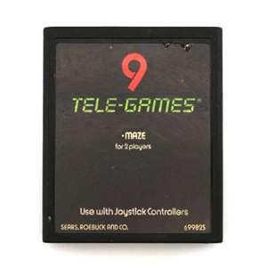 Maze #Textlabel 6-99825[Sears / Tele-Games]