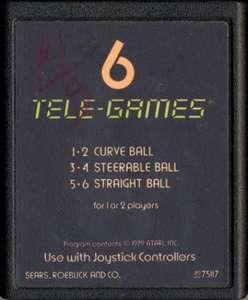 Bowling #Textlabel [Sears / Tele-Games]
