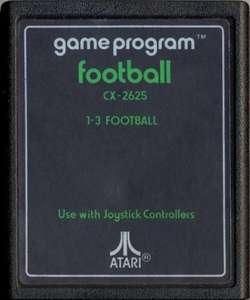 Football #Textlabel [Sears / Tele-Games]