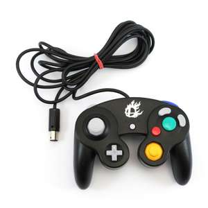 Original Gamecube Controller #schwarz Smash Bros.