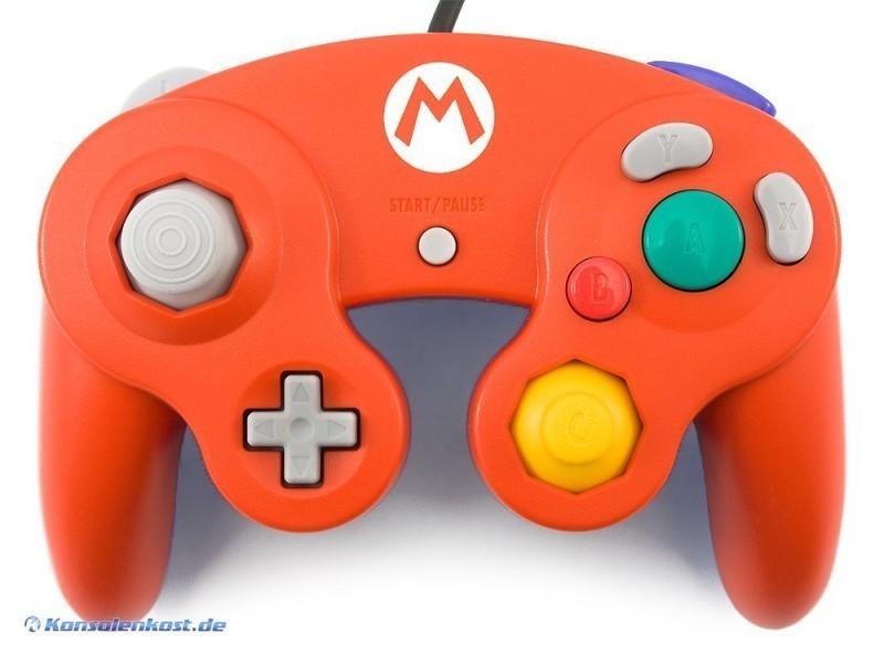 Original Nintendo Controller / Pad #rot-blau Club Nintendo Mario Edition