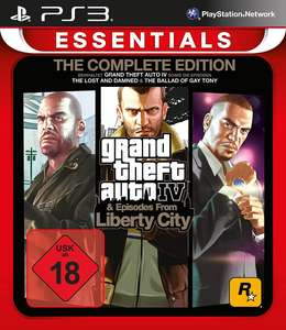 Grand Theft Auto IV + Episodes from Liberty City [Essentials]