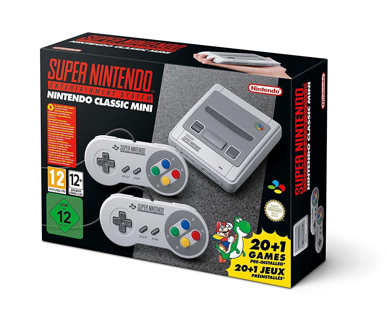 Nintendo Classic Mini: Super Nintendo Entertainment System Konsole