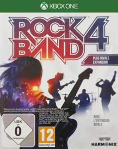 Rock Band 4 + Rock Band Rivals