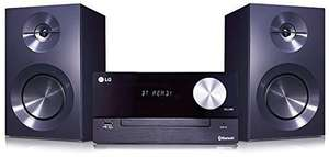 SA 72: LG CM2460 Mini HiFi Anlage #chrom-schwarz [LG Electronics] UNVOLLSTÄNDIG