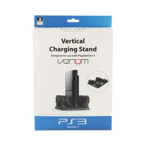 Vertical Charging Stand für Konsole und 4 Controller [Venom]
