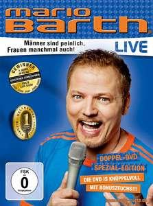 Mario Barth: Männer sind peinlich, Frauen manchmal auch! #Doppel-DVD Spezial-Edition