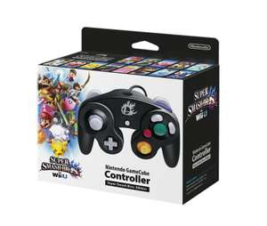 Original GameCube Controller #schwarz Smash Bros. Edition [Nintendo]