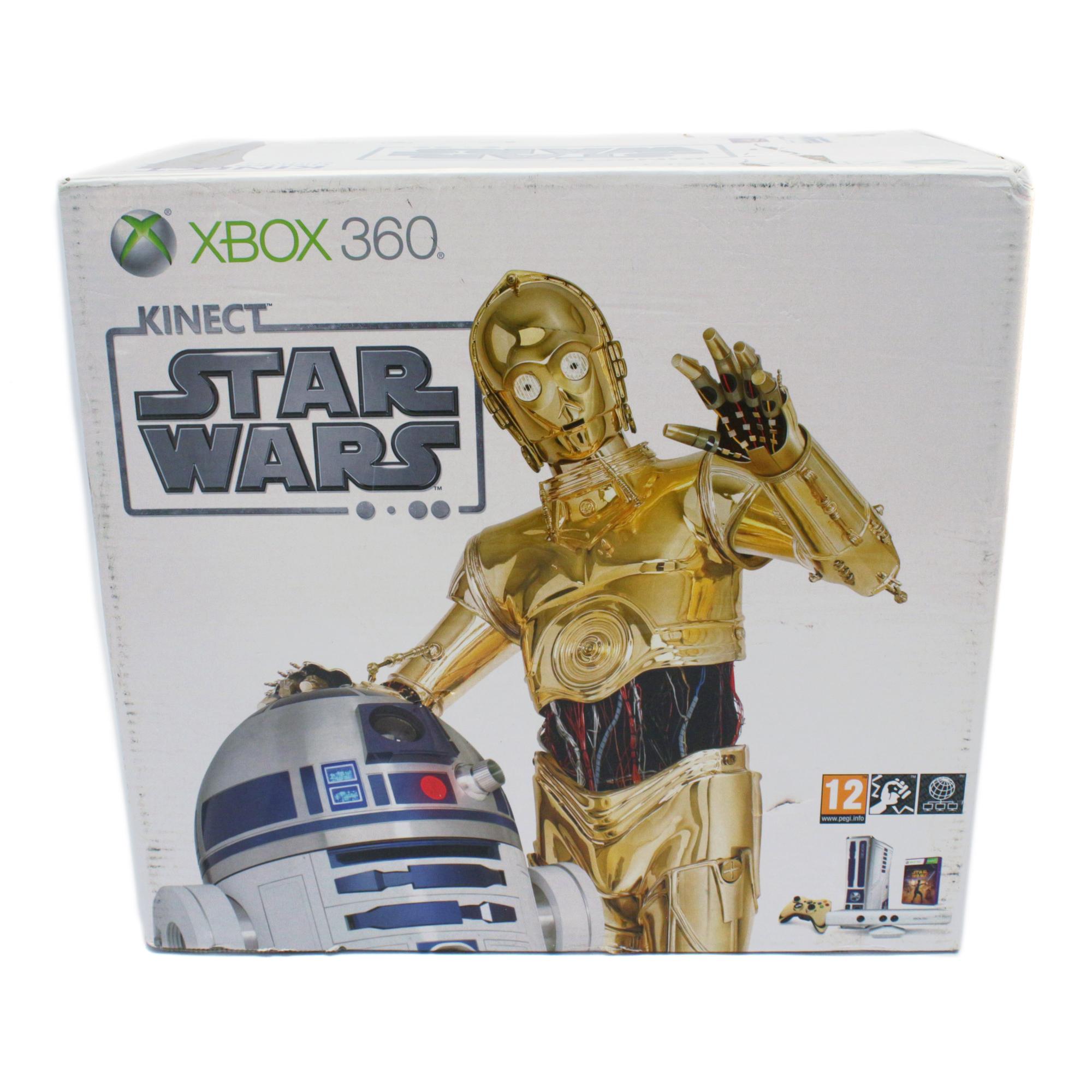 SA 143: Konsole Slim 320GB #Star Wars Edition UNVOLLSTÄNDIG