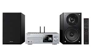 Pioneer Micro Hifi Anlage, X-HM86D-S, LCD-Display, CD, MP3, 65 Watt/Kanal #silber