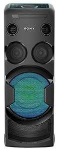 SA 167: Sony MHC-V50D All-in-One High Power Audio System #schwarz UNVOLLSTÄNDIG
