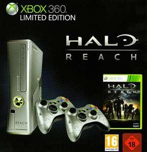 Konsole S 250GB #Halo Reach Limited Ed + 1 Original Controller + Zubehör