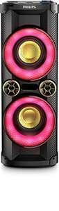 SA 192: NTX400 Nitro Party Sound Tower #schwarz-rot [Philips] BESCHÄDIGT
