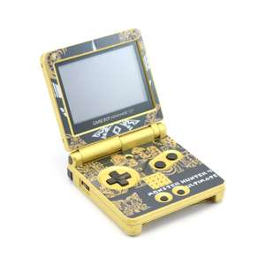 Konsole GBA SP #Custom Design Monster Hunter 4 Ultimate