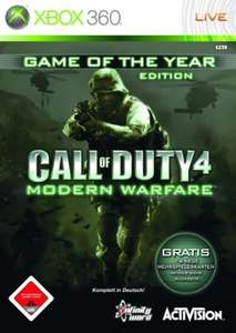 Call of Duty 4 Modern Warfare #Game of the Year Edition