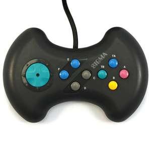 Controller / Pad QF3ix mit Gameport Anschluss #schwarz [Sigma]