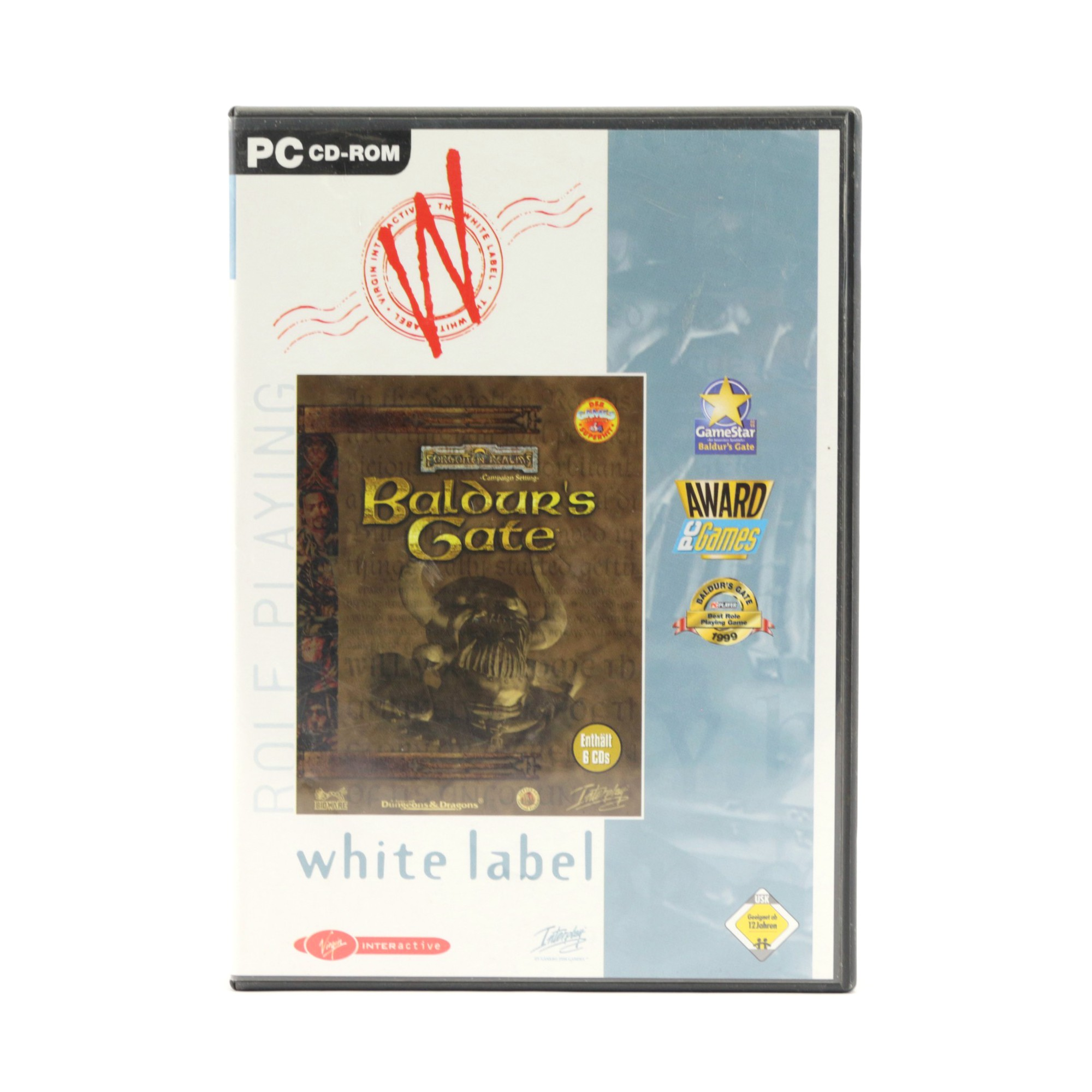 Baldur's Gate #White Label