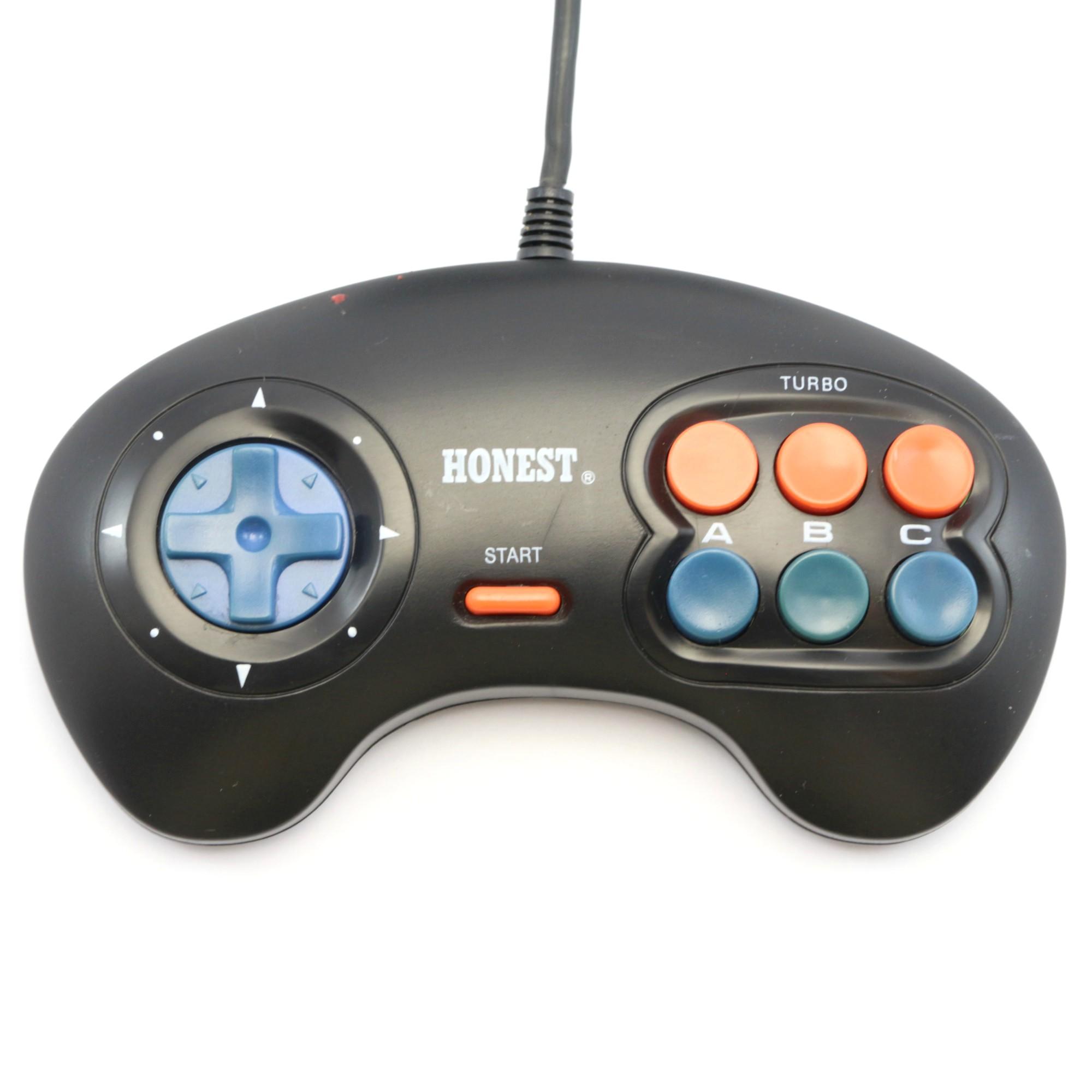 3-Button Controller mit Turbo / Slowmotion [Dritthersteller]