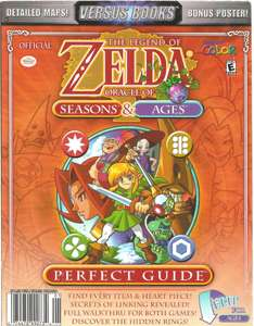 The Legend of Zelda: Oracle of Ages & Seasons - Perfect Guide / Maps / Poster