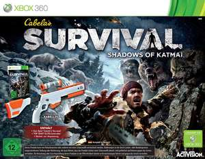 Cabela's Survival: Shadows of Katmai + Top Shot Elite Controller