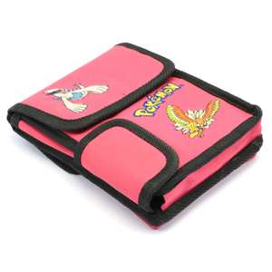 Original Pokémon Tasche/ Carry Case/ Bag für Konsole & Spiele #Pink
