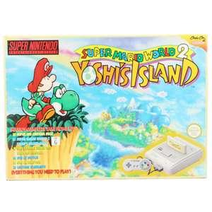 Konsole #Yoshi's Island Edition + Spiel + Original Controller + Zubehör