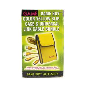 [GAME] slip case & universal link cable bundle #yellow