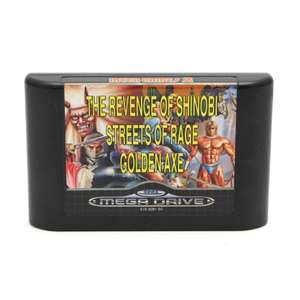 Mega Games 2: Golden Axe & Streets of Rage & The Revenge of Shinobi