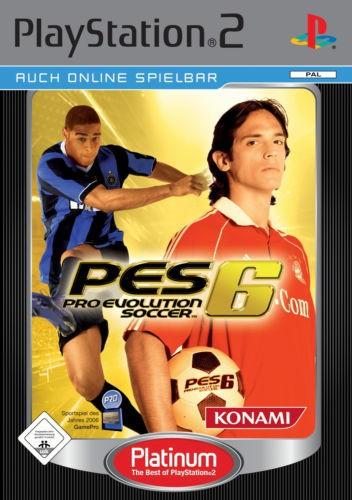 Pro Evolution Soccer / PES 6 [Platinum]