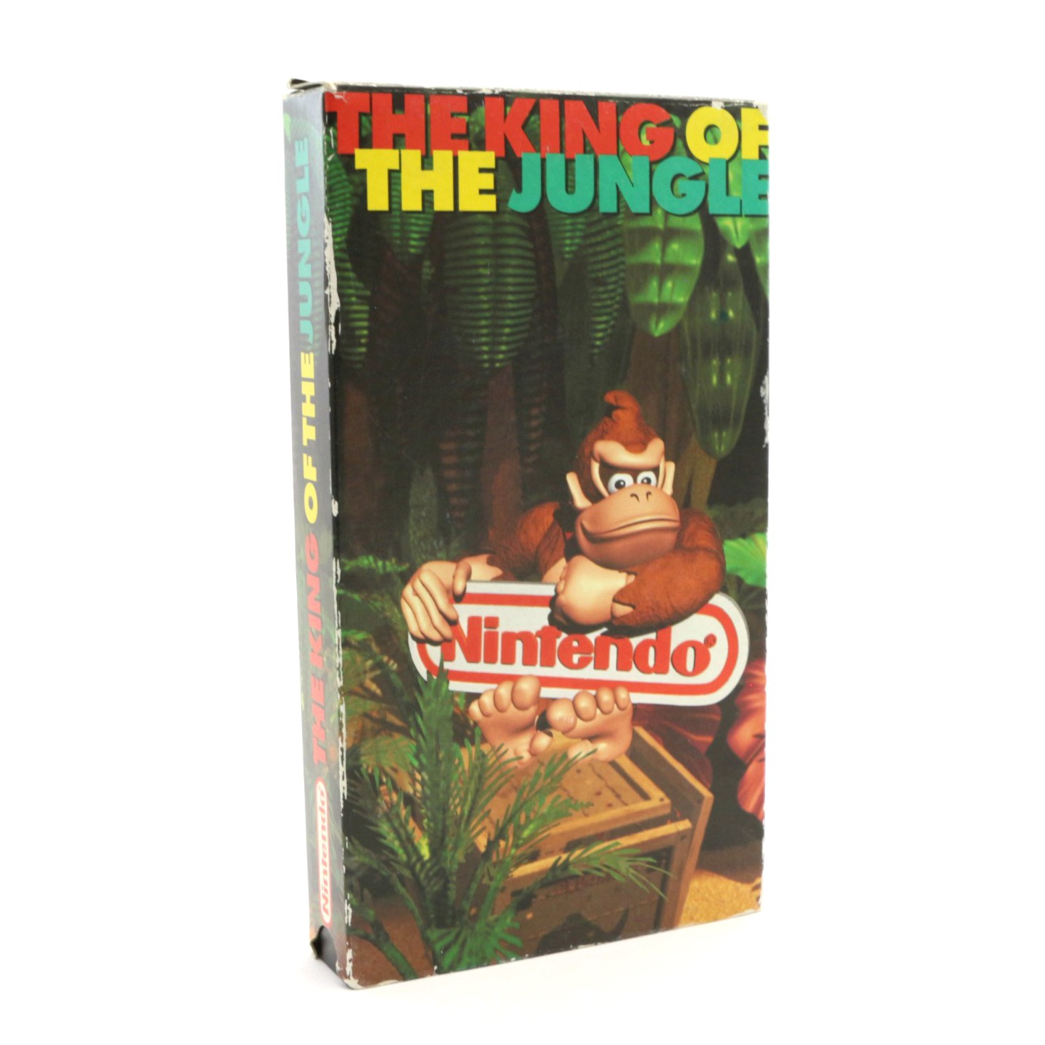 Nintendo Promo VHS - The King of The Jungle: Donkey Kong Country