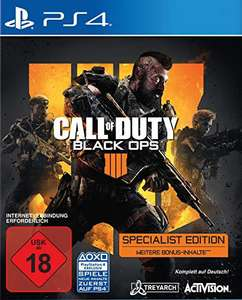 Call Of Duty: Black Ops 4 #Specialist Edition